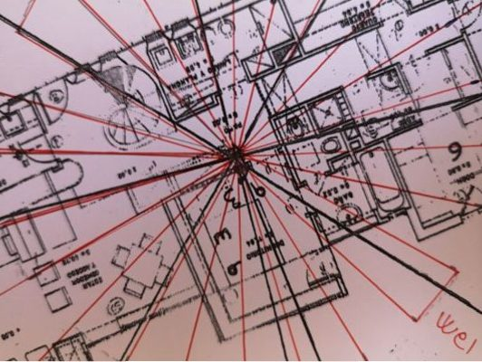 Como colocar las estrellas voladoras en un plano, Estudios de feng shui tradicional, carta cuatro pilares bazi,